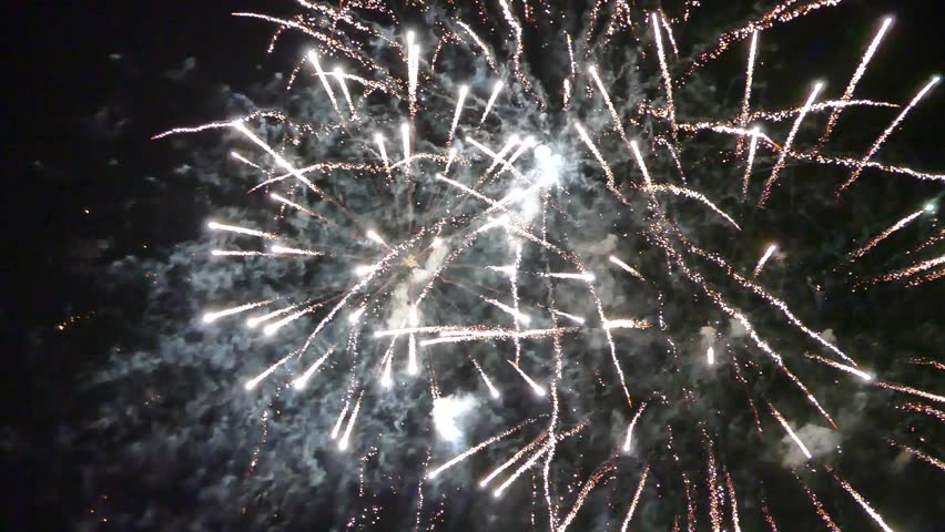 A colourful fireworks display | Shutterstock HD Video #1008527029