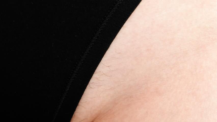 Pubic Hair Close Up