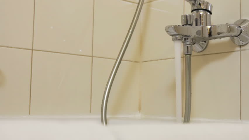 Water faucet in a luxurious hotel room or at home in the bathroom. Dolly video | Shutterstock HD Video #1008645154