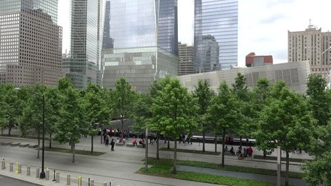 NEW YORK CITY - MAY 25: National September 11 Memorial & Museum  May 25, 2017 in NYC, New York, USA.