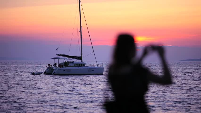 Mykonos Island Greece Aegean Sea   Shutterstock HD Video #1008773303