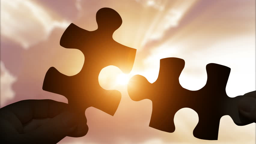 Puzzle Pieces Connecting with Hands Stock Footage Video (100% Royalty-free) 1008850412 | Shutterstock