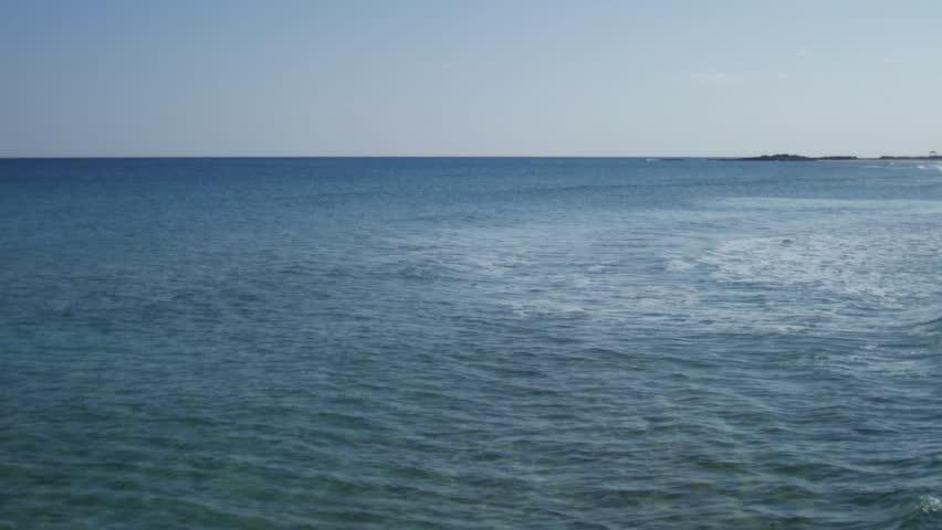 Calm sea waves | Shutterstock HD Video #1008854807