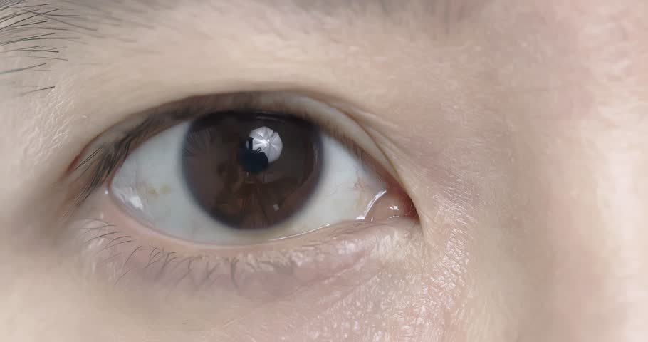 Video of close up asia woman eye   Shutterstock HD Video #1008860717