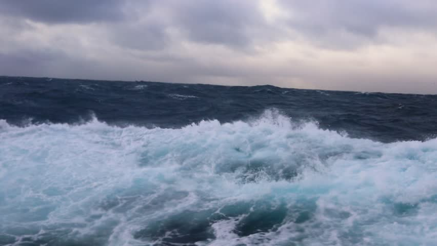 Storm in Drake passage