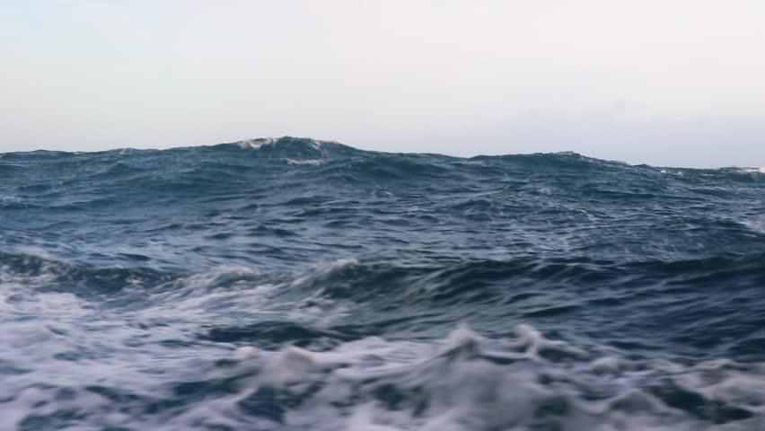 Storm in Drake passage