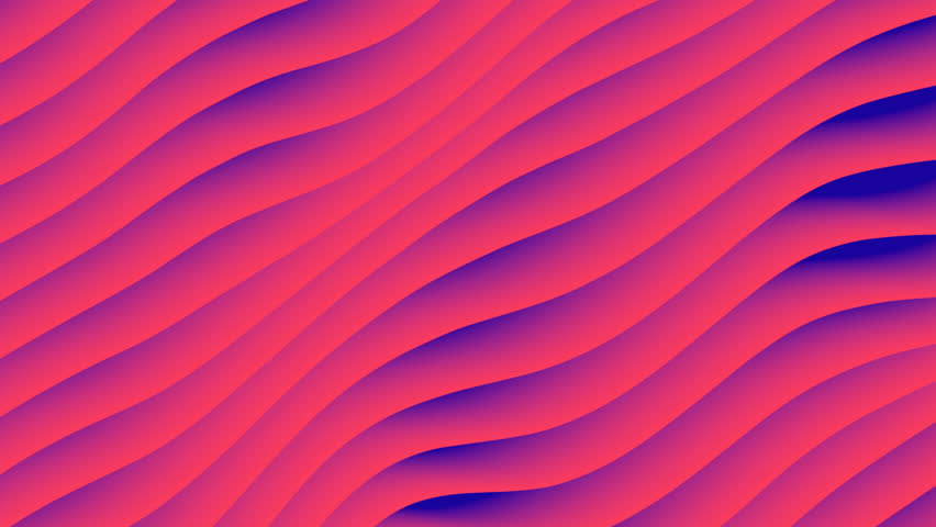 Colorful wave gradient animation.. Future geometric patterns motion background. 3d rendering #1009050011