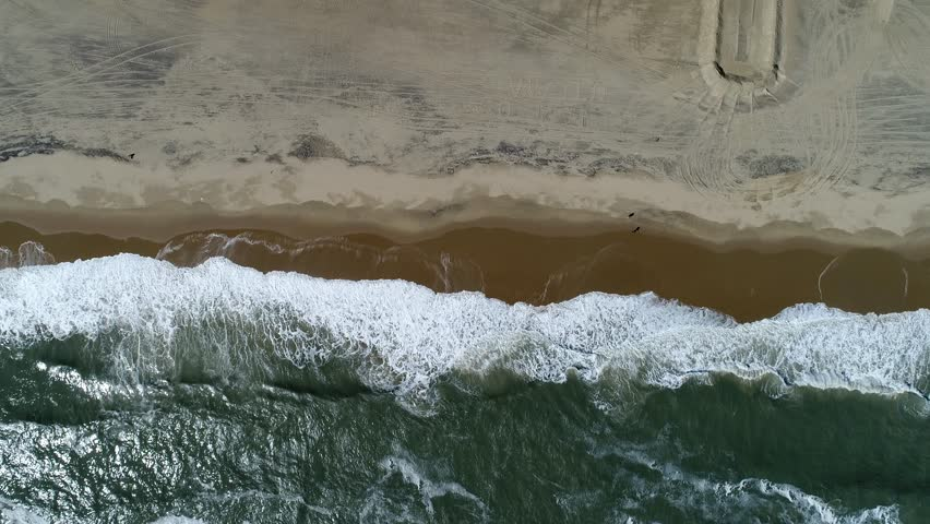 Birdseye view of Virginia beach.