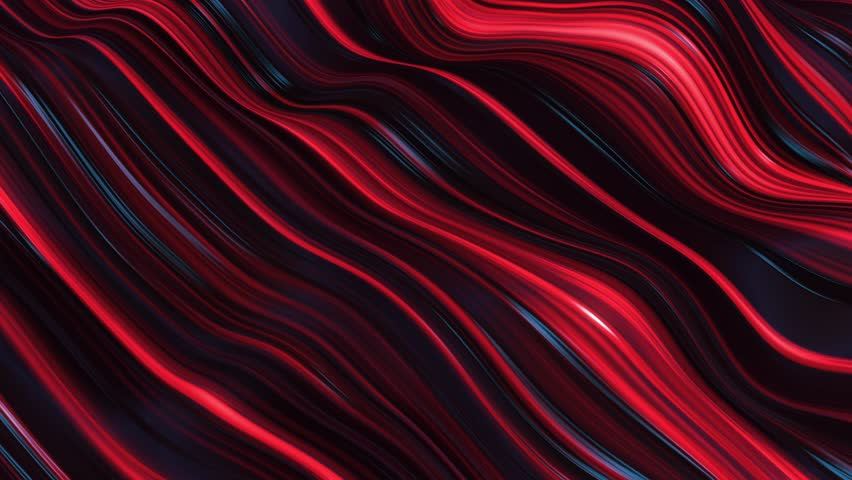 abstract red neon wave line filed #1009186217