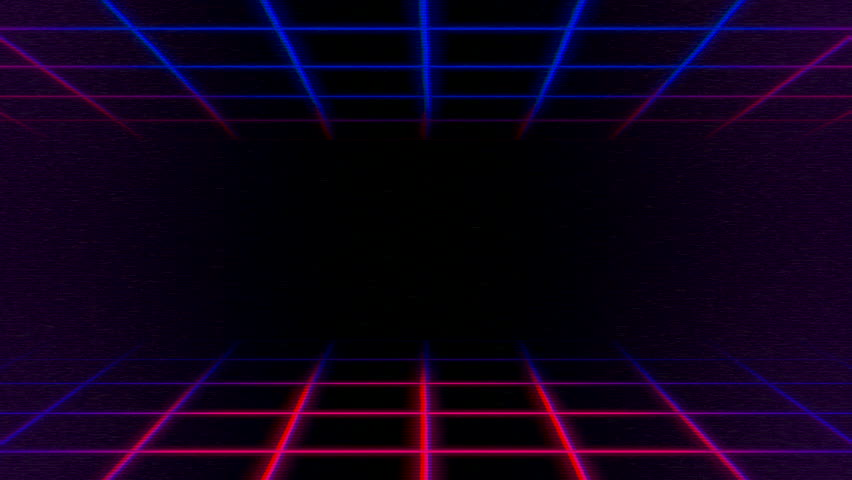 Motion retro lines abstract background. Elegant and luxury dynamic geometric 70s, 80s, 90s memphis style template in 4k footage. Video format 3840x2160