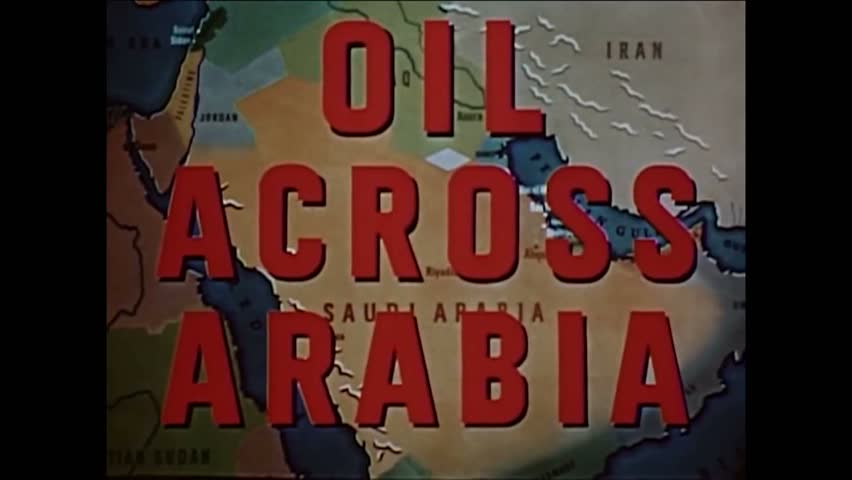 CIRCA 1950s - A narrator explains that until the late 1940s, Middle Eastern culture was not modernized.   Shutterstock HD Video #1009316162