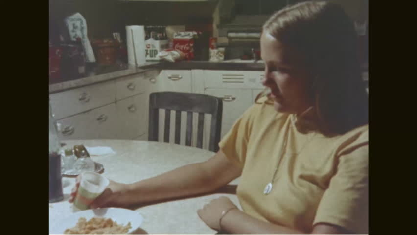CIRCA 1976 - Freddie creates problems at Sarah's party since he is drunk, and her parents are shocked when they get home. | Shutterstock HD Video #1009426403