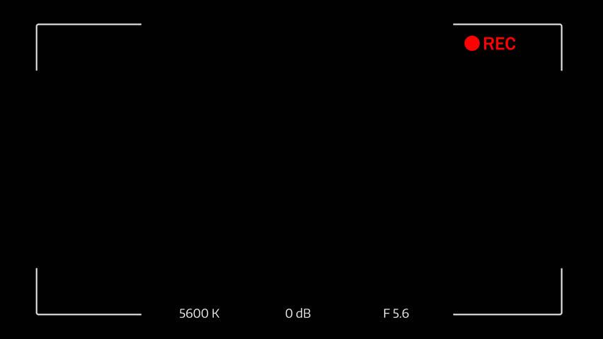 Video Camera Viewfinder (digital overlay display) - 4K v16 | Shutterstock HD Video #1009472165