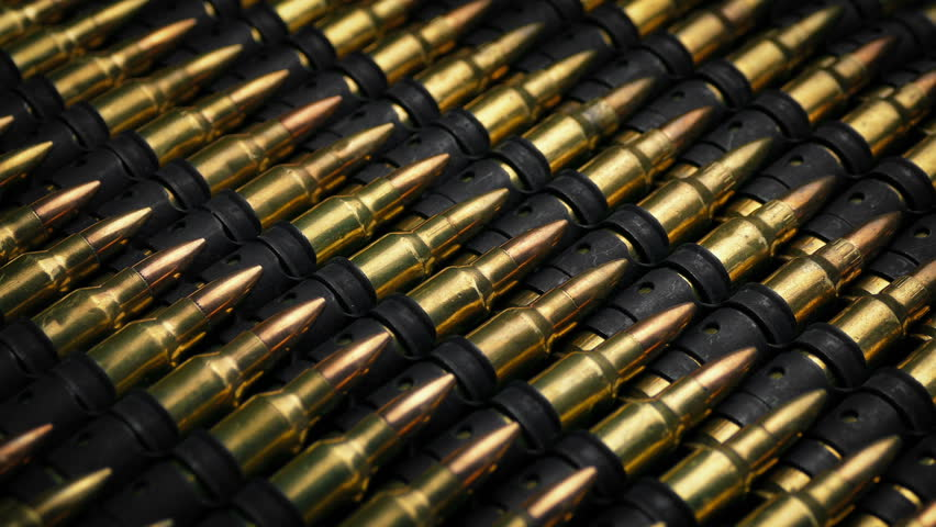 Many Rifle Bullets Mass Production Concept
