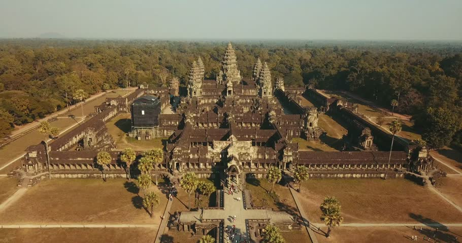 Angkor Wat Slow Fly By
