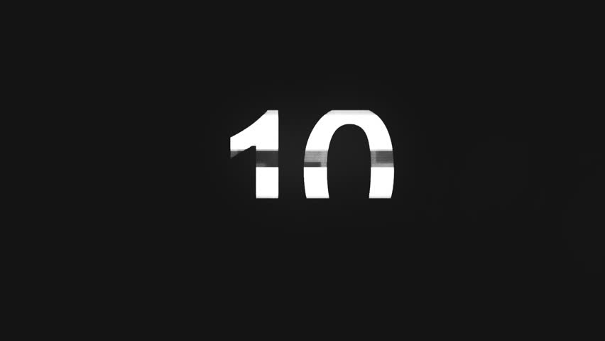 Countdown Timer - Corporate | Shutterstock HD Video #1009719311