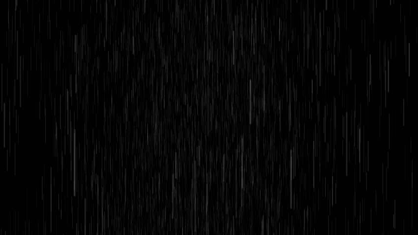 4k Rain Drops Falling Alpha Computer generated rain looped animation. heavy rain version. You can use any channel as alpha, or use soft light/overlay blending mode for adding to your composition #1009720253