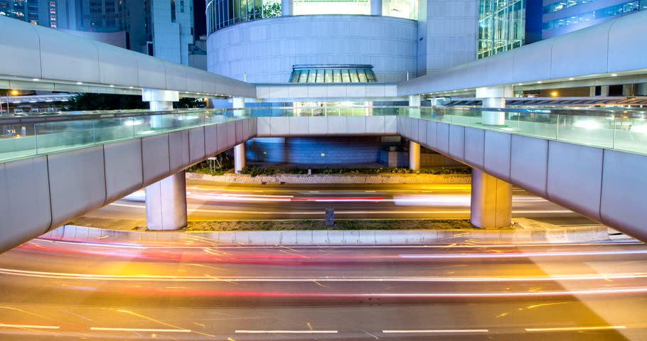 Central, Hong Kong, 11 April 2018:- Timelapse of Hong Kong traffic in central business district  | Shutterstock HD Video #1009758236