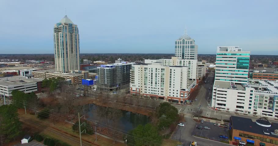 Town Center Virginia Beach Aerial Drone