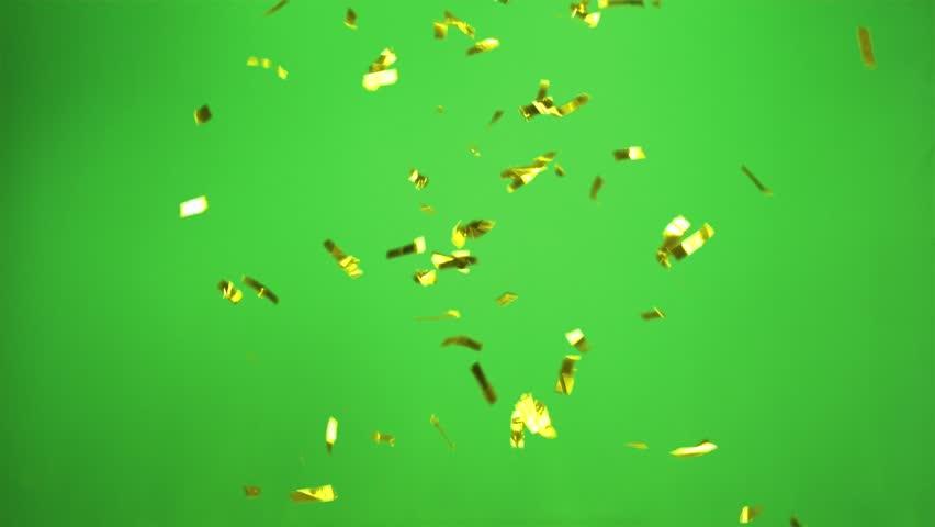 Yellow Confetti rocket cracker | Shutterstock HD Video #1009784234