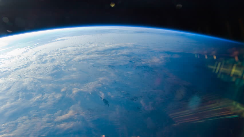 Planet Earth seen from the International Space Station with Time Lapse 4K. Images courtesy of NASA Johnson Space Center: http://eol.jsc.nasa.gov. | Shutterstock HD Video #1009864160