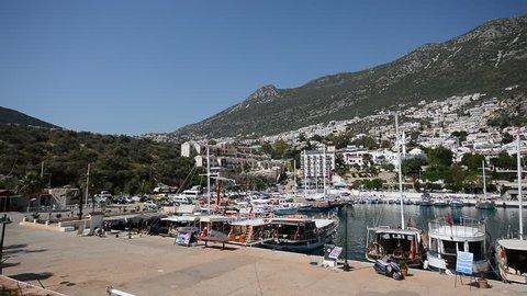 Kas, Antalya harbor
