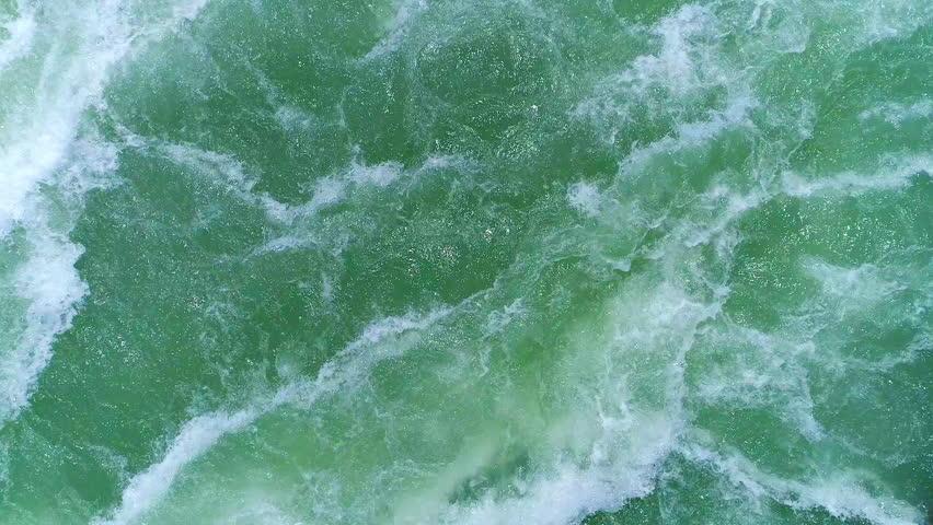 Turbulent river flow #1010067464