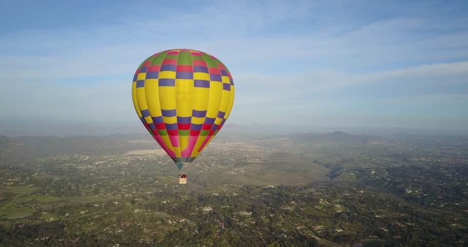 Hot Air Ballooning   Shutterstock HD Video #1010155058