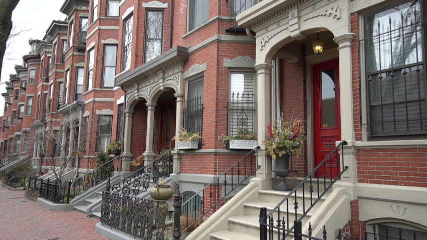 Boston South End Brownstones