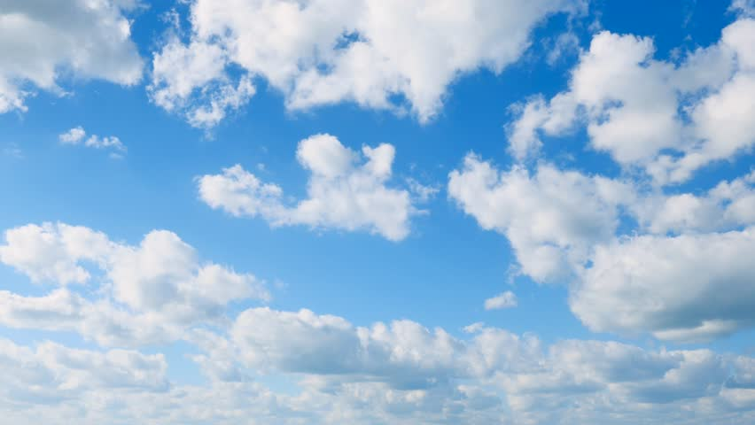 The clear sky with a cloud | Shutterstock HD Video #1010285534