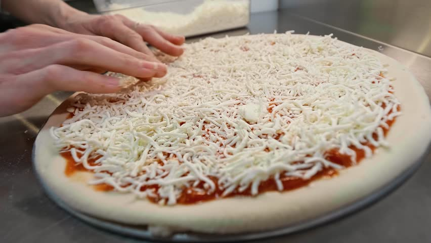 Image result for put cheese on pizza