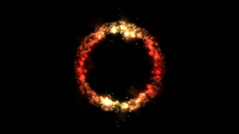 Animated Ring Of Fire Against Stock Footage Video 100 Royalty Free 17324077 Shutterstock