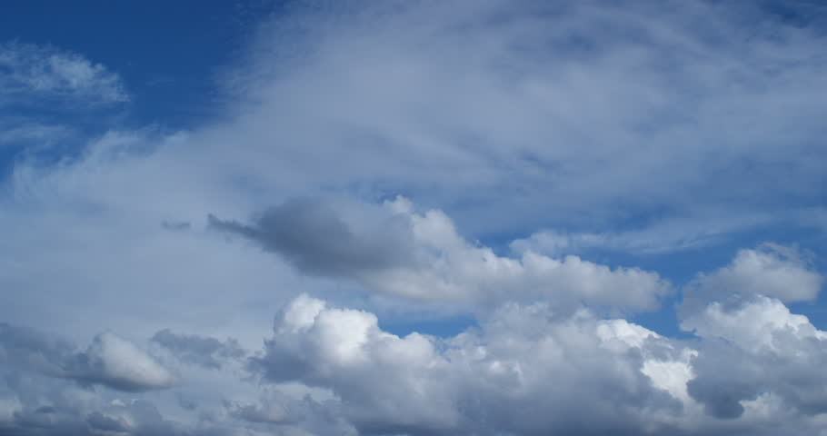 Deflickered version of Clouds timelapse 4K footage. | Shutterstock HD Video #1010365397