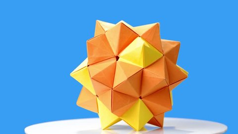 Modular Origami - spiky balls and stellated polyhedra models ... | 270x480