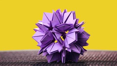 Origami Poinsettia/4-petal Flower 折纸一品红(1) - YouTube | 270x480