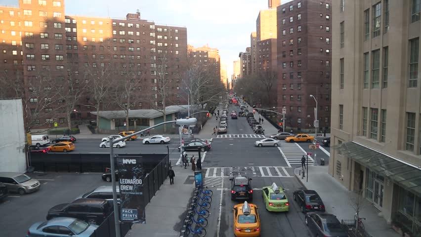 New york, New york,Usa. September 2th, 2016: New York City High Line night in New York City.