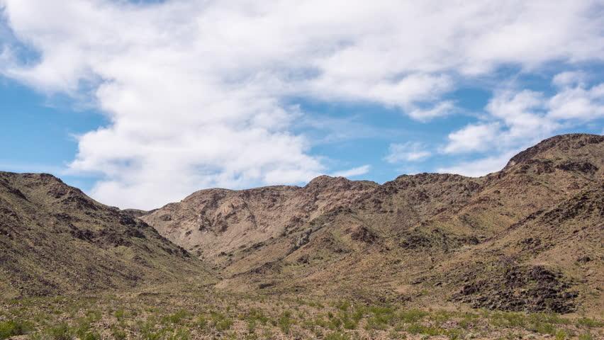 Time Lapse of Scenic Desert Landscape - Mojave National Preserve | Shutterstock HD Video #1010457461