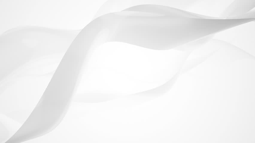 Abstract background with animation of moving wave silk or energy. Backdrop of beautiful soft air waves in slow motion. Animation of seamless loop.