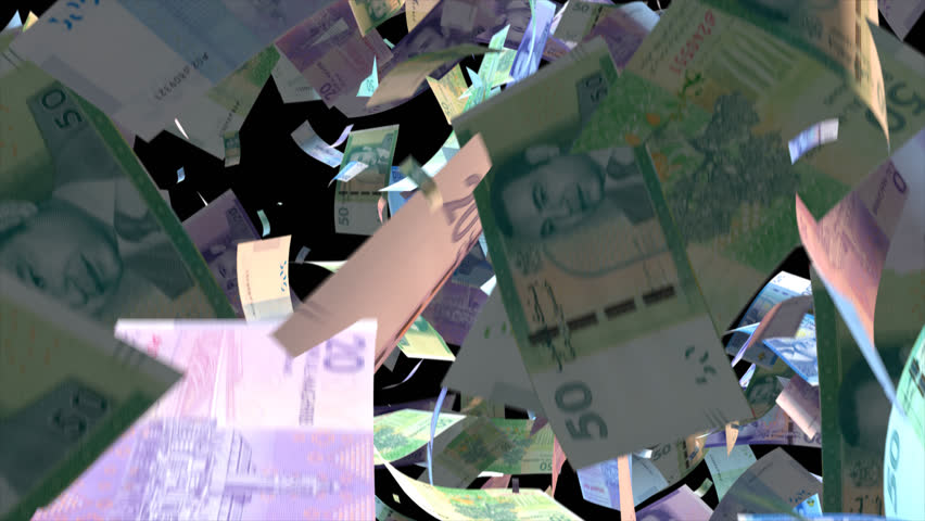 Falling Morocco  money banknotes Video Effect simulates Falling Mixed Morocco  money banknotes with alpha channel (transparent background) in 4k resolution  | Shutterstock HD Video #10104815