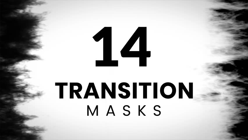14 transition mask templates. Grunge texture for creative slideshow. | Shutterstock HD Video #1010484671