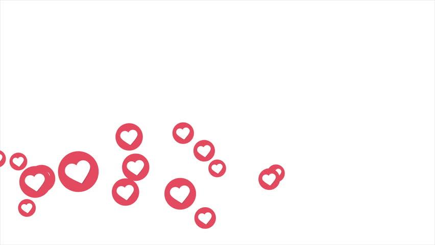 Social love heart icon animation with optional luma matte. Alpha Luma Matte included. 4k video | Shutterstock HD Video #1010516231
