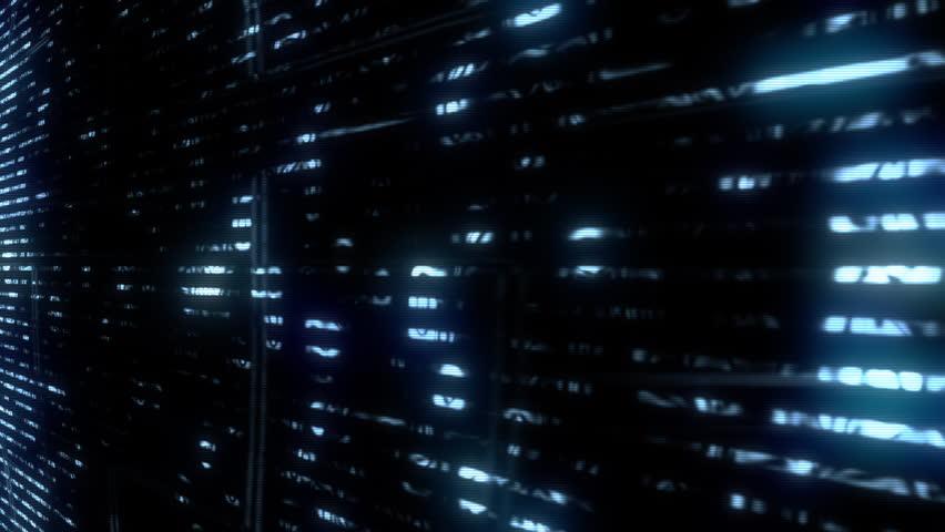 Future Tech: Futuristic data glitch digital TV malfunction (Loop). | Shutterstock HD Video #1010516612