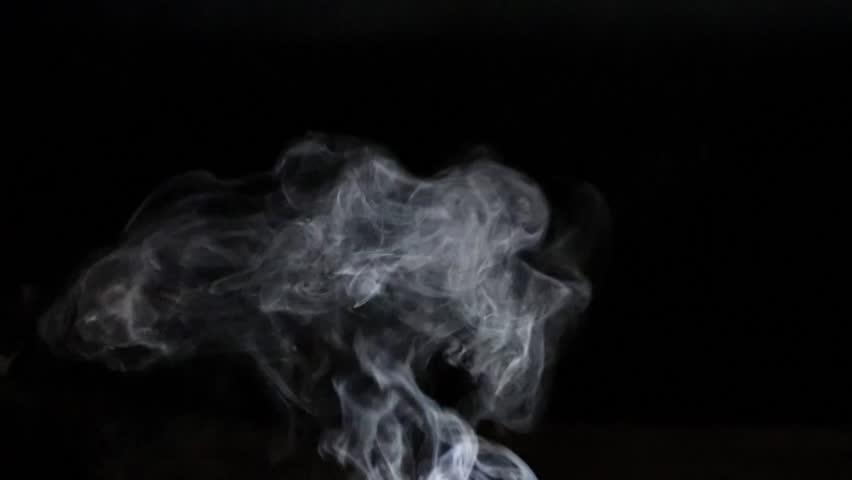 smoke effect on black background #1010521493