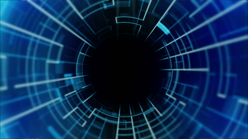 Loopable Abstract background with flying into digital tunnel from flickering particles, digits 0 and 1 as binary code and plexus of network. Animation of seamless loop. 3D rendering | Shutterstock HD Video #1010701859