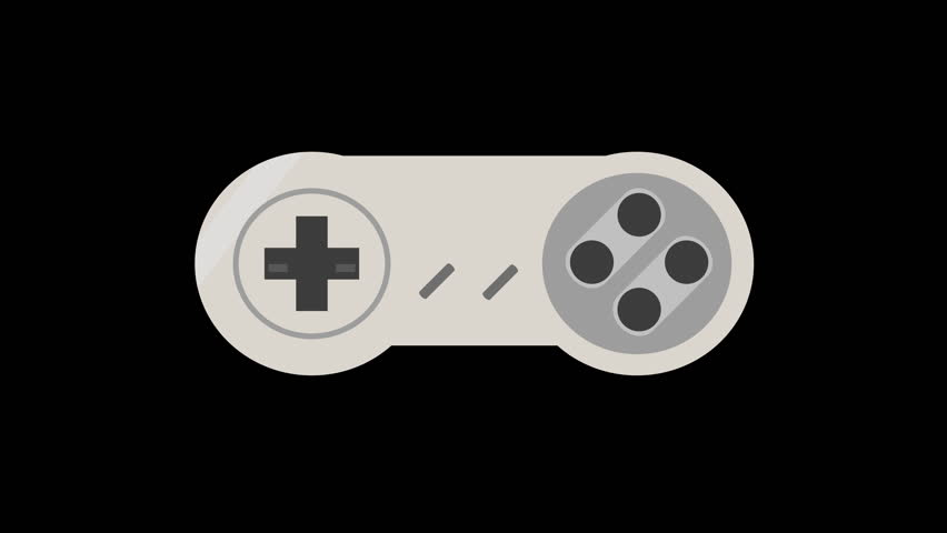 Retro Video Game Controller Animation Stock Footage Video 100 Royalty Free 1010795774 Shutterstock