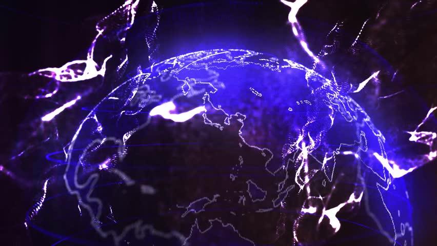 Global network,  technology communications digital system | Shutterstock HD Video #1011274148