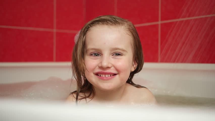 Teenage Girl Shower Vector Images