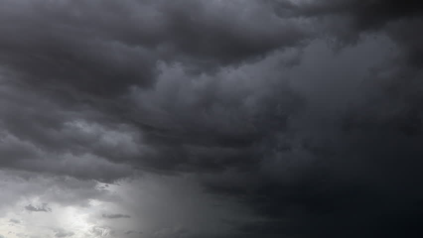 Nature Environment Dark huge cloud sky black stormy cloud motion big stormy rain day thunderstorm clouds dancing panorama horizon Time lapse blue cloud moving oxygen Storm giant moving fast movie time