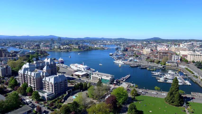 Inner Harbour in Victoria BC Canada