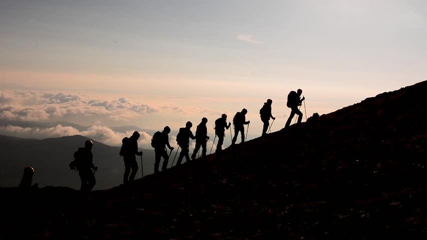 professional mountaineering, climbing, hiking team